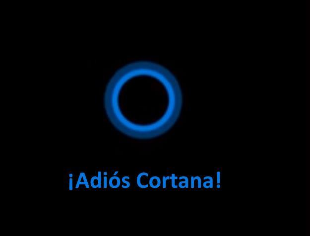 Como deshabiitar Cortana