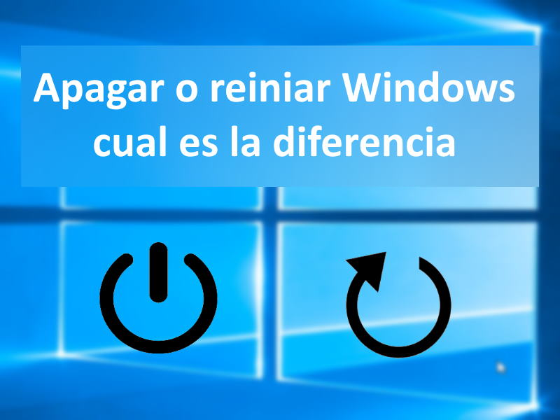 ogo apagar o reiniciar windows
